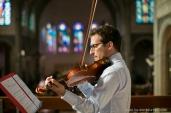 la-baule-mariage-photographe-ceremonie-religieuse-violoniste