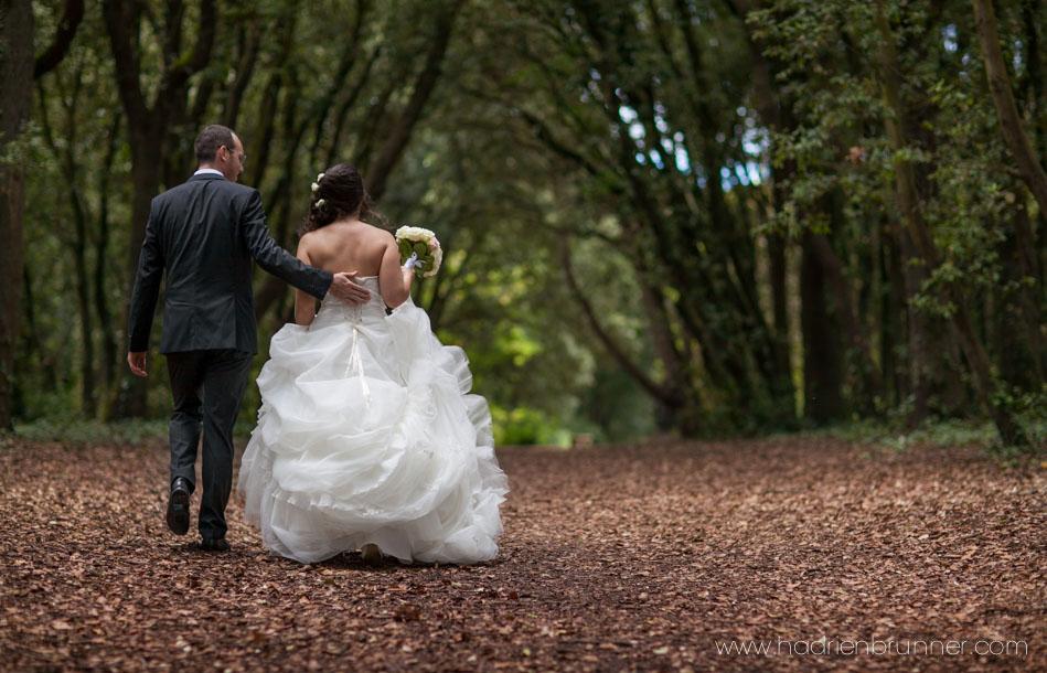 Photographe de Mariage Le Croisic - forêt de Pen Avel
