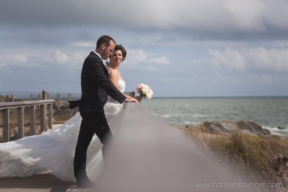 Seance photo de mariage à Batz-sur-Mer par Hadrien BRUNNER