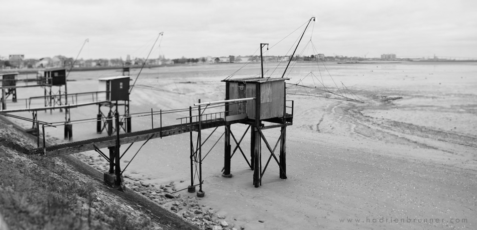 Photo-saint-nazaire-pecheries-noir-et-blanc
