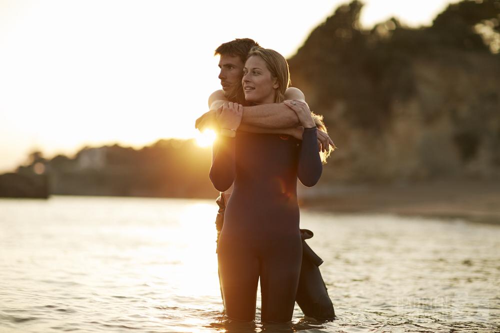 Photographe Couple bord de mer La Baule