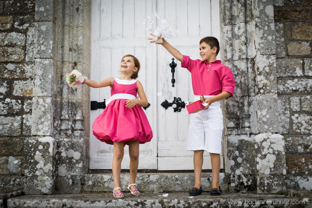Tenues enfant mariage Guérande photos