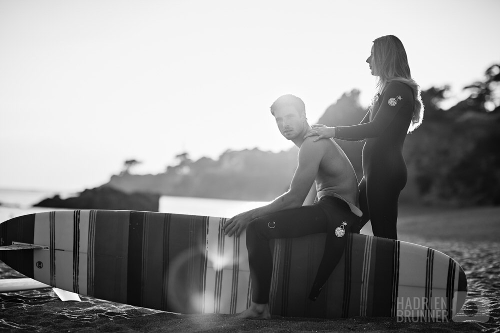 Photographe de Couple et surf à Pornichet - Hadrien BRUNNER