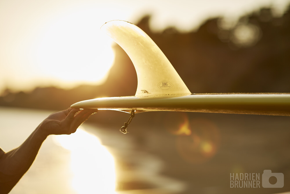 Photos surf Loire-atlantique - Longboard - Photographe Hadrien BRUNNER
