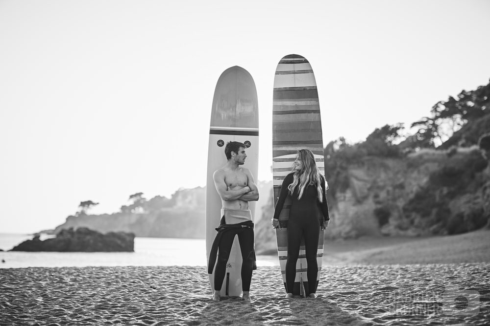 Shooting couple plage de Saint-marc-sur-mer